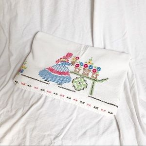 Other - Embroidered Villagers Tablecloth